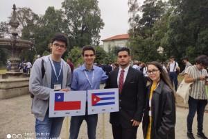 Ex estudiante participa en Olimpiadas Iberoamericanas de Química