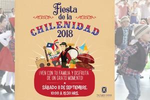 Este sábado todos a celebrar en la Fiesta de la Chilenidad