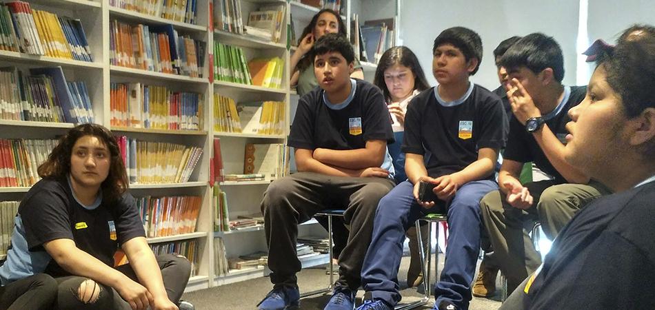 Visita de la Escuela n° 10 Llaima de Melipeuco: Un sueño hecho realidad.