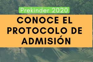 Los pasos que vienen en el proceso de admisión a Prekínder 2020